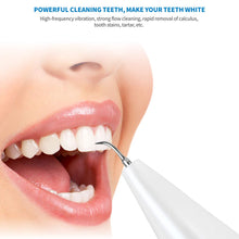 Load image into Gallery viewer, (H091)Ultrasonic Tooth Cleaner Electric Plaque Tartar Dental Calculus Remover for Teeth Dental Cleaning Kit Tools
