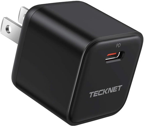 (K990) USB C Charger TeckNet Mini PD 20W Fast Charger Adapter Power Delivery 3.0 Wall Charger Compatible