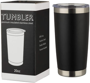 (W510)MUCHENGHY 20oz Tumbler Double Wall Stainless Steel Vacuum Insulated Travel Mug with Lid, Insulated Coffee Cup Travel Mug