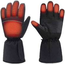 Load image into Gallery viewer, (Q284)Moliter Heated Gloves, Battery Powered Electric Heat Gloves for Women and Men, Waterproof Winter Thermal Gloves, Warm Touchscreen Gloves