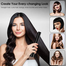 Load image into Gallery viewer, (X210)AILISS Pro Hair Straightener and Curler 2 in 1 Cordless Hair Straightener Flat Iron for Wireless
