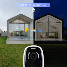 Load image into Gallery viewer, (E016)Wireless Outdoor Camera, Outdoor Security Camera, Rechargeable Battery Powered Security Camera, 1080P Video with 2-Way Audio Motion Detection, Night Vision