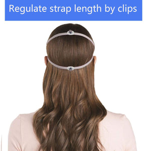 (R260)Replacement Headgear Strap Compatible with ResMed Airfit P10, Made of Premium and Super Elastic Material(3 Pack)
