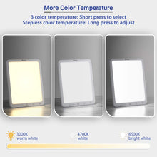 Load image into Gallery viewer, (H760)Biling Light Therapy Lamp UV-Free 10000 LUX, Sun Lamp with More Brightness Level and Color Temperature