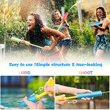 Load image into Gallery viewer, (M212)Esnowlee 6 PCS Foam Squirt Guns Water Blaster Set, 32 ft Shooting Range Squirt Gun Swimming Pool Beach Party Water Outdoor Toy for Kids Adults