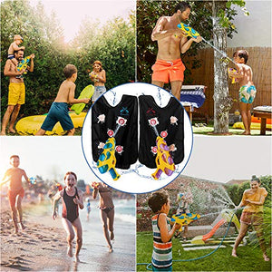 (G356)HZONE Water Guns & Water Activated Vests,Water Toy for Kids in The Backyard,Great Outdoor Water Fighting Play Toys