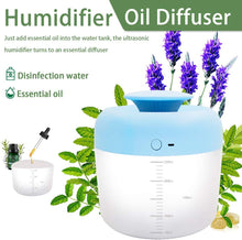 Load image into Gallery viewer, (F154)PBOX Cool Mist Humidifier,2.5L Humidifiers for Bedroom USB Charge Air Humidifier with Essential Oils Diffuser Function 40 Hours of Moisturized Air