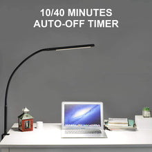 Load image into Gallery viewer, (Y464) Desk lamp with clamp,10W LED Desk Lamp,Adjustable Brightness & Color Temperatures,Swing Arm Lamp,Reading Table Lamp,Desk Lights