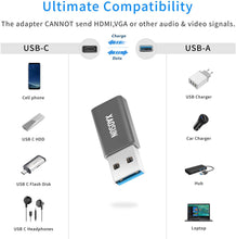 Load image into Gallery viewer, (D081) USB to USB C Adapter [2 Pack] - XAOSUN 3.0/3.1 USB A to USB Type