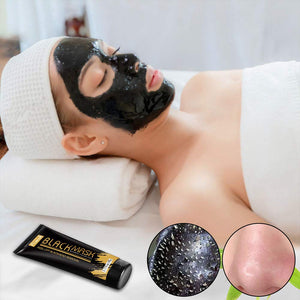 (E449)Blackhead Remover Mask Activated Charcoal Peel Off Black Mask for All Skin Types Deep Cleansing Pore & Acne by Nimiah
