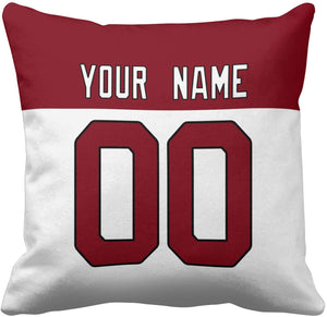 "(C908)Idahar Design You OWN Football Pillowcases Printed Your Name and Number Custom Personalized Throw Pillow Protectors 18"" x 18"" Suitable"
