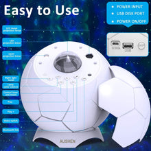Load image into Gallery viewer, (D118)Galaxy Projector,Star Projector with LED Nebula Cloud Moon,Starry Night Light Projector for Kids Adults Bedroom/Home Theater/Room/Party/Game Rooms