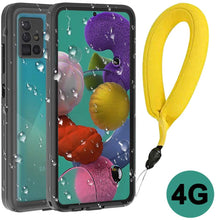 Load image into Gallery viewer, (K083)LANYOS Compatible Samsung Galaxy A51 4G/5G Waterproof Case, Full Body with Built in Screen Protector IP68 Underwater Rugged Heavy Duty Clear Back Protective Cover