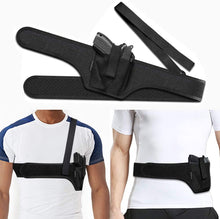 Load image into Gallery viewer, (S491)HANDSONIC Deep Concealment Shoulder Holster, Universal Underarm Gun Holster for Men and Women, Fits Subcompact and Compact Pistols