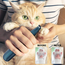 Load image into Gallery viewer, (W990)BASEIN Pet Foot Hair Clippers with Led Light, Professional Pet Hair Trimmers, Pet Grooming Kit, Low Noise, USB Rechargeable, Electric Clippers