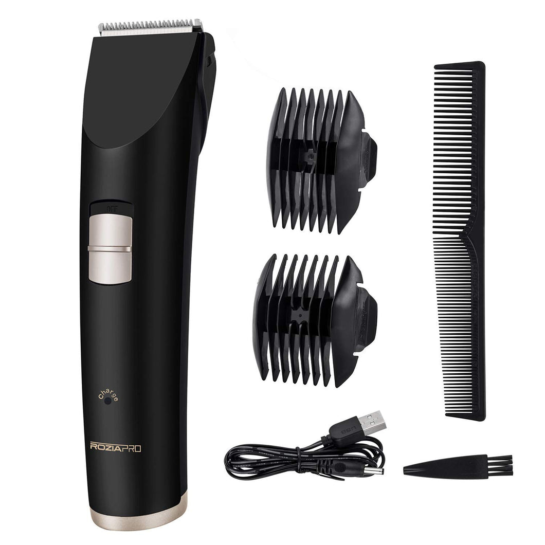 (B619) Beard Trimmer Hair Clippers for Men Electri Trimmers Haircut Cordless Rechargeable USB Charging