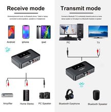 Load image into Gallery viewer, (K192) Bluetooth Receiver,HiFi Wireless Audio Adapter,Wireless Bluetooth 5.0 Transmitter Receiver