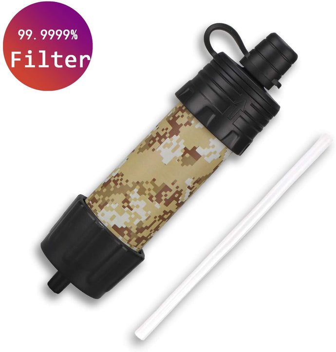 (E881)Easiestsuck Portable Mini Water Filter Straw