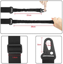 Load image into Gallery viewer, (F059)JTENG 2 Point Sling and Traditional Strap Adjustable Strap with Metal Hooks for Outdoor Sports