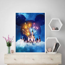 Load image into Gallery viewer, (K201)Amphol Castle Diamond Painting Kits for Adults, 5D Diamond Painting for Kids, Full Drill Diamond Art for Beginner, Perfect
