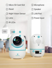 Load image into Gallery viewer, (A474)HeimVision 3MP Security Camera, HM202A Wireless WiFi Camera with Smart Night Vision/2 Way Audio/Motion Detection