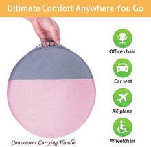 Load image into Gallery viewer, (T804)Joy.Box Round Seat Cushion for Office Chair | Lower Back Pain, Tailbone, Coccyx & Sciatica Relief | Pure Memory Foam for Relaxing Yoga & Meditation | Home & Car Use