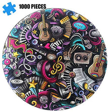 Load image into Gallery viewer, (T370)Adult Jigsaw Puzzle 1000 Pieces Puzzle-Guitar, an Educational Intellectual Decompression Toy, Fun Round Puzzle, Family Game