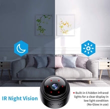 Load image into Gallery viewer, (D865)Actitop Mini Camera, Wireless WiFi 1080P HD Home Security Surveillance Cameras with Night Vision Motion Detection 32G SD Card