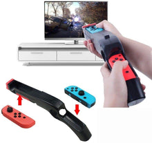 Load image into Gallery viewer, (W297)N-Switch Joy Con Comfort Grips Controller Holder, Kerou Switch Game Accessories Handheld Joystick Remote Control- Black