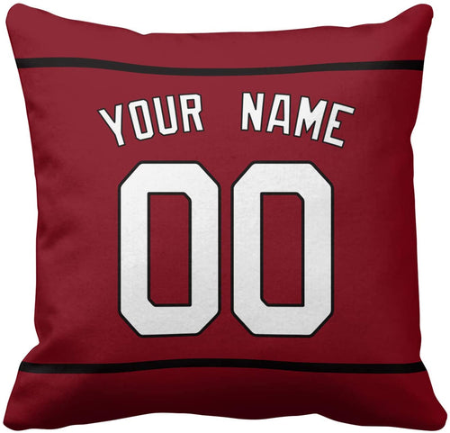(C908)Idahar Design You OWN Football Pillowcases Printed Your Name and Number Custom Personalized Throw Pillow Protectors 18