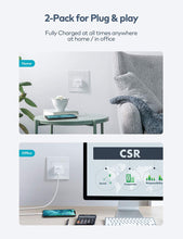 Load image into Gallery viewer, (C357)USB C Charger, Zoprovo 20W Fast Charger 2-Pack Mini Wall Chargers Block, Compact USB-C Power Adapter PD 3.0 Power Brick Cube