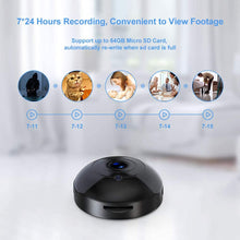 Load image into Gallery viewer, (F069)Mini Hidden-Camera WiFi-Spy Camera Wireless 1080P, Oucam Small Spy Cam Nanny Cam with Audio and Video Recording Micro Surveillance Camera