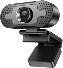 Load image into Gallery viewer, (H740)VAFOTON Webcam, 1080P Full HD Laptop Computer Web Camera with Microphone, Auto Light Correction, Autofocus, 3D Noise Reduction