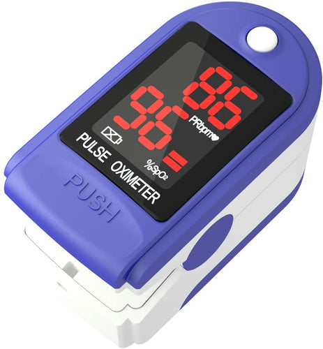 (E931)Pulse Oximeter Fingertip - Lovia Automatic Digital Blood Oxygen Saturation Monitor