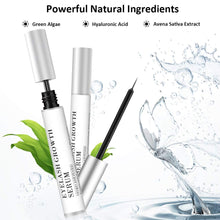 Load image into Gallery viewer, Eyelash Growth Serum, Lash and Eyebrow Enhancer, Lash Boost Serum for Rapid Growth, Natural Eyelash Enhancing Formula for Fuller, Longer, Thicker Looking Eyelashes and Brows 5ml (White)