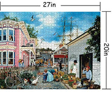 Load image into Gallery viewer, (T375)Puzzles for Adults 1000 Piece Jigsaw Puzzle -Dock Town, Educational Intellectual Decompressing Toy Fun Family Game for Kids Adults 802
