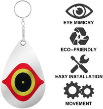 Load image into Gallery viewer, (G292)Gxeabg Bird Repellent Horrible Predator Eye Effective Hanging Bird Repellent Devices Scare Birds Away for House Windows and Gardens(5PCS