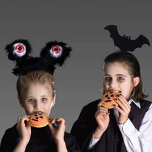 Load image into Gallery viewer, (E626)MITCIEN 4PCS Halloween Eyeglasses Bat Pumpkin Eyeglasses Cosplay Eyewear with 4PCS Halloween Headbands for Party Favors Halloween Costume Party Prop