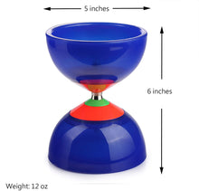 "Load image into Gallery viewer, (D273)OVOKIA Five Bearings Chinese Yoyo 5"" Diabolo Toy with Fiberglass"