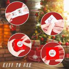 Load image into Gallery viewer, (V320)500PCS Christmas Stickers,1.5 inch 2020 Merry Christmas Round Label Sticker roll for Cards Crafts Envelopes Gift Boxes Sealing Decoration