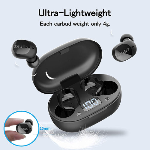 (V661)SOMIC Wireless Earbuds, TWS Earphones Bluetooth 5.0 Headphones with Charge Case, in- Ear Stereo Headset