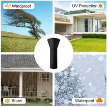 Load image into Gallery viewer, (K190)Outdoor Standup Patio Heater Cover with Zipper Oxford Fabric Waterproof Round Heater Covers (89INCH)