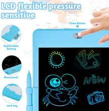 Load image into Gallery viewer, (Q312)KOKODI LCD Writing Tablet Doodle Board, 8.5 Inch Colorful Screen Drawing Tablet, Electronic Doodle Board for Kids, Boys Girls Toys