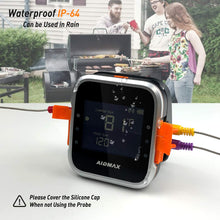 Load image into Gallery viewer, (V961)AidMax Wireless Grill Thermometer Digital 6 Probes for Meat Food BBQ Inside Smoker Oven with Bluetooth Phone App