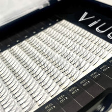 Load image into Gallery viewer, (V264)Volume Eyelash Extensions 3D C Curl Individual Mink Lashes 0.15 Natural Pre-made Fans Eyelash Supplies (3D-0.15C-8mm)