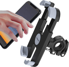 Load image into Gallery viewer, (G288)THIKPO Bike Phone Mount with Shockproof Silicone Pad, Secure Quick-Locking Clamp, 360° Rotation Angles for 4.7-6.8 inch Cellphones