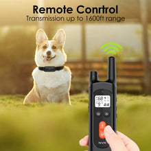 Load image into Gallery viewer, (G153)NVK Dog Training Collar Remote and Rechargeable Dog Shock Collar with 100% Waterproof Design, 3 Training Modes,Beep, Vibration and Shock