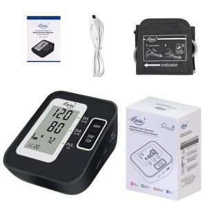 (H771) Blood Pressure Monitor for Upper Arm, LOVIA Accurate Automatic Digital BP Machine