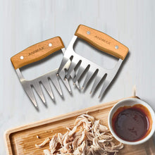Load image into Gallery viewer, (V962)AidMax Meat Claws BBQ Tools for Shredding Meat - Chicken Bear Claws Meat Shredder with Handles for Pulled Pork 2 Pack