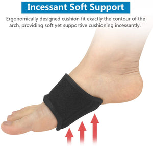 (S270)[Supportive & Cozy] MaxaCare Plantar Fasciitis Insoles & Inserts for Men & Women, Arch Support Shoe Inserts - Arch Support Brace - Plantar Fasciitis Socks